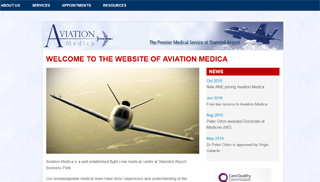 Aviation Medica web site